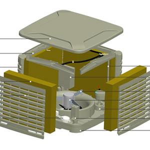 标准型冷风机(下出风)