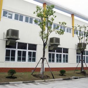 电子厂冷风机通风降温工程