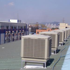 钣金加工厂通风降温系统工程
