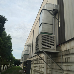 塑胶厂岗位送风系统工程