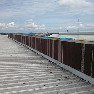 服装厂湿帘风机降温系统工程