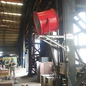 造船厂岗位送风工程